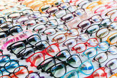 Fashion glasses Royalty Free Stock Photography
