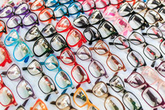 Fashion glasses Stock Photography