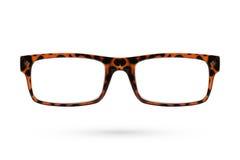 Fashion glasses style plastic-framed isolated on white backgroun Royalty Free Stock Photo