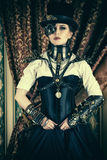 Fashion gothic Royalty Free Stock Images