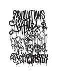Fashion graffiti illustration Stock Image