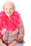 Fashion Grandmother Royalty Free Stock Image
