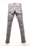 Fashion gray jeans for clothing Stock Photo