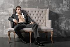 Fashion guy Stock Images