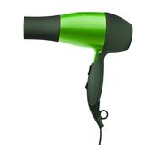 Fashion hair dryer isolated Stock Photo