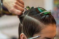 Fashion Haircut royalty free stock photos
