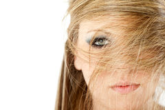 Fashion hairstyle Stock Images