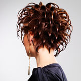Fashion  hairstyle Royalty Free Stock Image