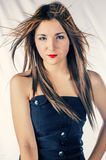 Fashion hairstyle Stock Image