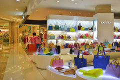 Fashion handbag shop Stock Photos