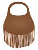 Fashion handbag vector Royalty Free Stock Photos