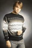 Fashion handsome man Stock Image