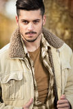 Fashion handsome man Royalty Free Stock Photos