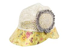 Fashion hat Royalty Free Stock Photo