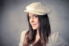 Fashion hat Stock Images