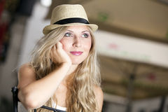 Fashion hat series Royalty Free Stock Images