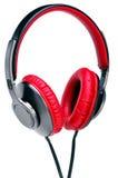 Fashion headphones on a white background. Stock Photos