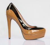 Fashion High heeled shoes stiletto Stock Photography