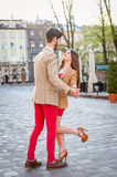 Fashion hipster couple Royalty Free Stock Photo