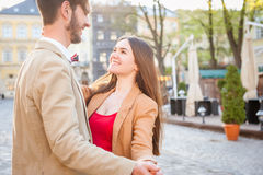 Fashion hipster couple Royalty Free Stock Images