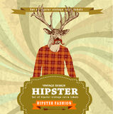 Fashion Hipster dear Stock Image