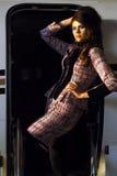 Fashion Hispanic Woman Stock Photo