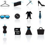Fashion Icon Set Royalty Free Stock Image