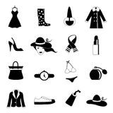 Fashion icons Stock Images