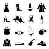 Fashion icons Stock Images