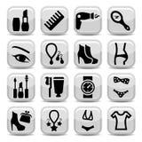 Fashion  icons Royalty Free Stock Image