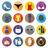 Fashion icons. Royalty Free Stock Image