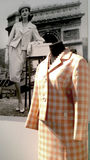 Fashion 60-ies of the 20th century. Exhibition Of Alexander Vasiliev Royalty Free Stock Images