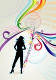 Fashion illustration Royalty Free Stock Image