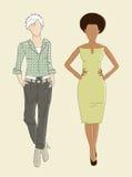 Fashion illustration Stock Photos