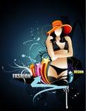Fashion  illustration Royalty Free Stock Photography