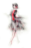 Fashion Illustration Royalty Free Stock Photo