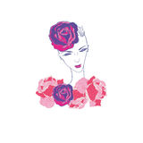 Fashion illustration Stock Photos