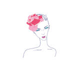 Fashion illustration Stock Images
