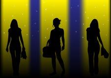 fashion illustration lights Στοκ φωτογραφία με δικαίωμα ελεύθερης χρήσης