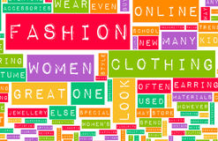 Fashion Industry Royalty Free Stock Photography