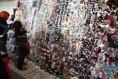 Fashion industry exhibition Stock Image