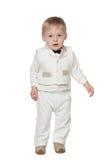 Fashion infant boy Royalty Free Stock Image