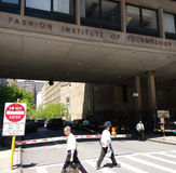 Fashion Institute of Technology (FIT), New York City, USA. FIT campus at the intersection of West 27th Street and 7th Avenue, or Fashion Avenue Stock Image