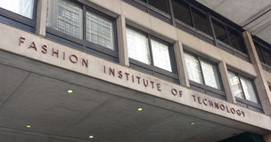 Fashion Institute of Technology FIT, New York City, USA. FIT campus at the intersection of West 27th Street and 7th Avenue, or Fashion Avenue. This photo was Royalty Free Stock Image