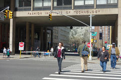 Fashion Institute of Technology. The Fashion Institute of Technology (FIT), in New York City, which is ranked among the top five fashion schools in the world royalty free stock photography