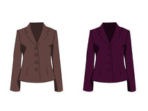 Fashion jackets Stock Images