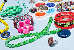 Fashion jewelery Royalty Free Stock Photos
