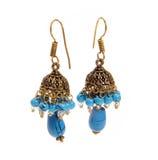 Fashion jewelery. Isolated fashion jewelery - ear rings stock image