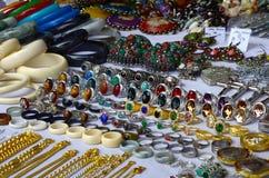 Fashion jewelery set Stock Photo
