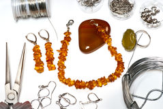 Fashion jewellery Royalty Free Stock Photos